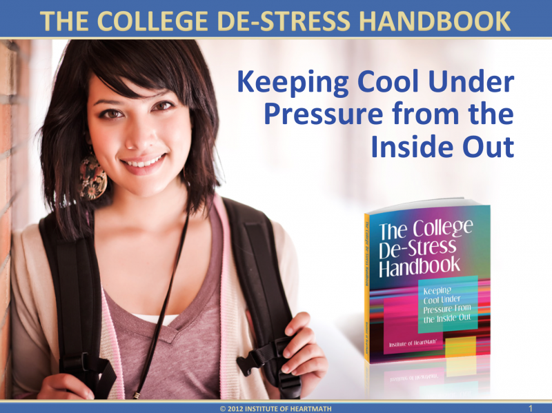 The College De-Stress Handbook